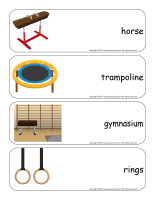 Giants word flashcards-Gymnastics-3