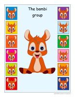 Group identification-Bambis
