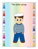 Group identification-Sailors