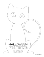 Halloween-Coloring book 2020