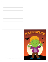 Halloween greeting card-Color-1