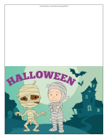 Halloween greeting card-Color-2