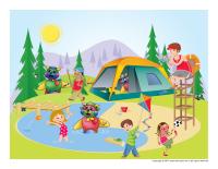 Hunt and seek-Poni Camping