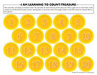 I am learning to count-Treasure