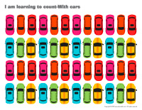 I am learning to count-With-cars
