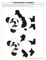 I can invent a panda
