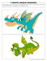 I create unique dragons