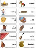 Word-flashcards-The-ranch