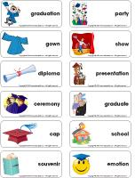 Word-flashcards-Graduation