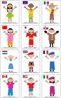 Picture game - Children-around-the-world