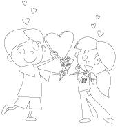 Coloring-pages-theme-Valentine's-Day