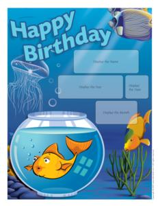 Birthdays-Fish