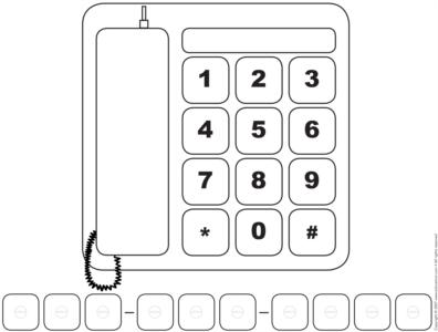 Number-Phone number game