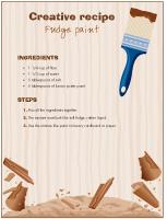 Creative-recipe-fudge paint