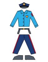 Paper-dolls-Policeman-Crossing-guard