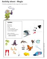 Activity sheets-Magic