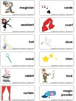 Word flashcards - Magic