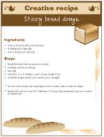 Creative-recipe-Sticky-bread-dough