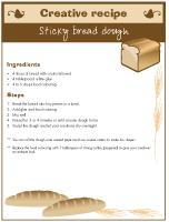 Creative-recipe-Sticky-bread-dough
