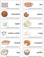 Word-flashcards-The-bakery