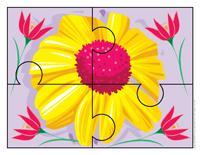 Puzzle-Flower