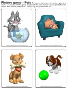 Pets-Picture game
