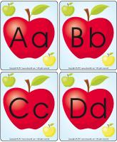 Poster Apple alphabet