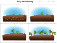 Sequential story - Vegetables