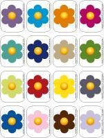 Multicoloured - flowers