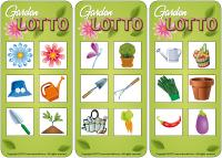 Lotto game - The garden