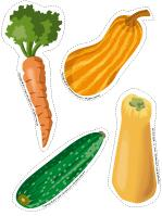 Educa decorate - Vegetables