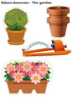 Educa decorate - The garden