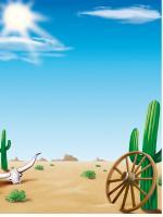 Scene - The desert