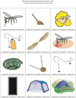 Magnifying glass game - Mosquitoes