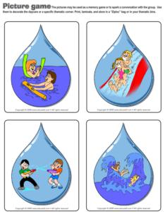 Water Games-Picture game