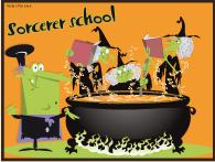 Wizard/Sorcerer school