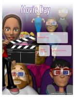 Perpetual calendar - Movie Day