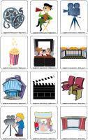 Picture game - The movie theatre