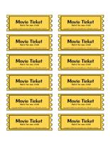 The Movie Theatre Theme And Activities Educatall
