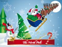 Christmas-The North Pole