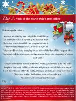 Visit of the North Pole's post office