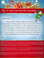 Visit of the North Pole's observatory