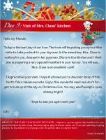 Visit of Mrs.Claus