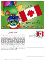 Card Christmas in Canada