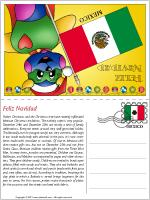 Card Christmas in Mexico