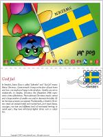 Card Christmas in Sweden