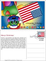 Card Christmas in the United States