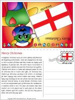 Card Christmas in England