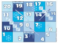 Snakes and ladders-Ice