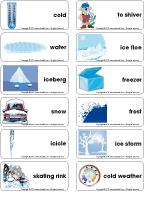 Word flashcards-Ice